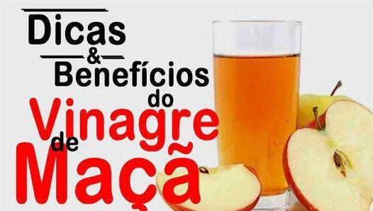 Vinagre de maçã ajuda a emagrecer e reduz níveis da diabetes!!!  :)