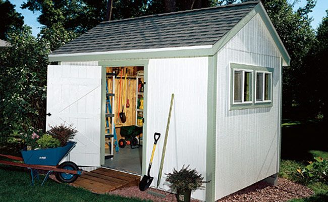 Build your own garden shed from pm plans gardens for Design and build your own shed