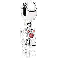 Mickey Mouse ''LOVE Mickey'' Charm by PANDORA