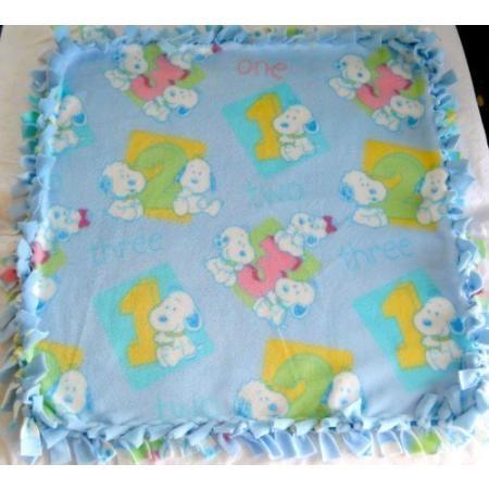 Peanuts Baby Snoopy Blanket - Daisy Hill Farm Puppies - Baby Snoopy, Baby Belle, Baby Andy, Baby Marbles, Baby Olaf, Baby Spike