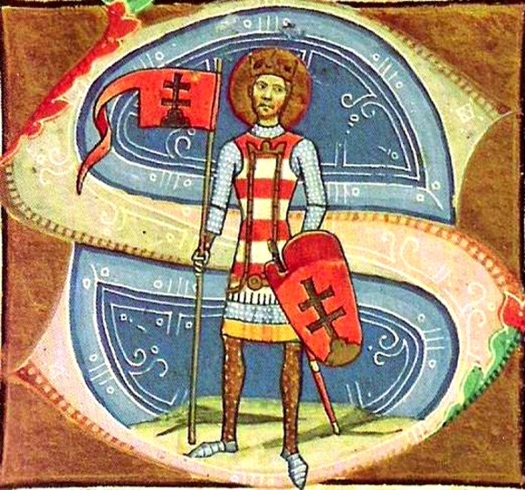 Stephen / 99725 December 1000 • Son of Géza ( Origin name: Vajk )