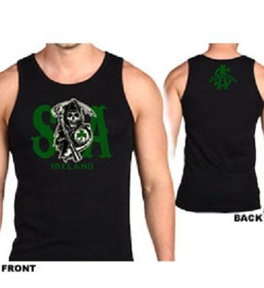 Sons Of Anarchy Ireland Tank Top (Large, Black)  http://bikeraa.com/sons-of-anarchy-ireland-tank-top-large-black/