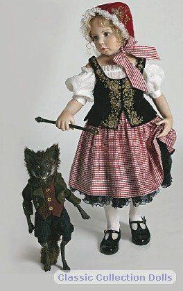 Little Red Riding Hood Hildegard Gunzel 2011 Porcelain Doll
