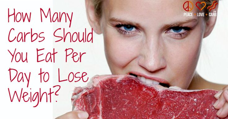 How Many Carbs Should You Eat Per Day to Lose Weight? | Posts, To ...