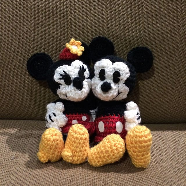 Ravelry: Classic Mickey Mouse pattern by Megan Kreiner