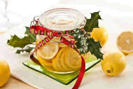 Cytryna w miodzie z rumem