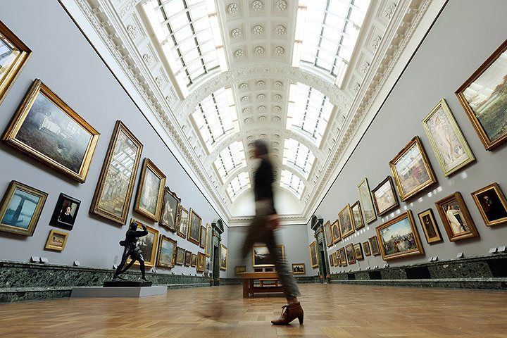 Image result for Tate Britain chronological hang