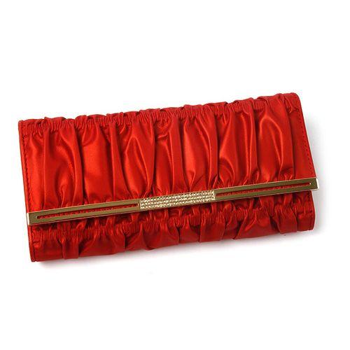 [Crimson long wallet]