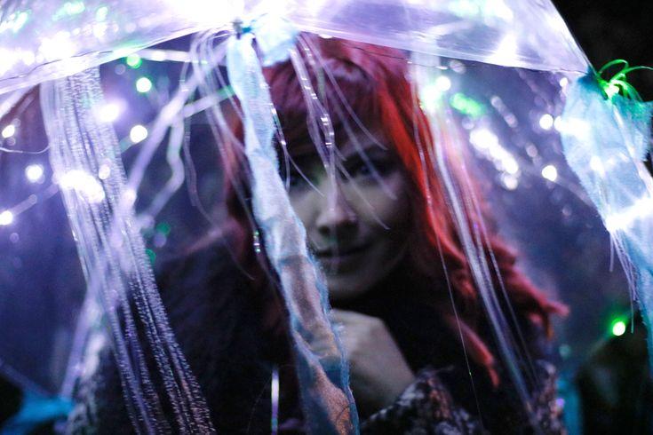 Light Up Jellyfish Festival Umbrella Paige Joanna Coachella