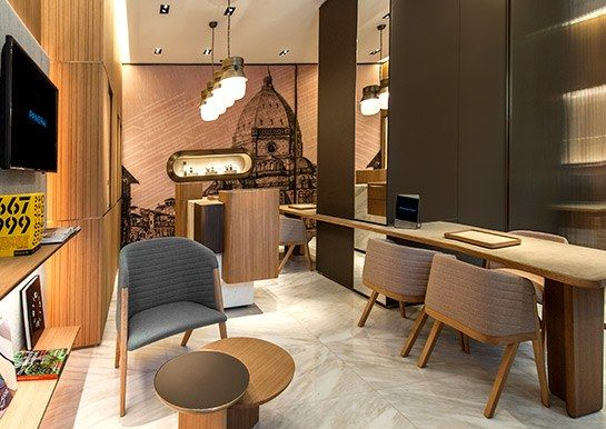 Patricia Urquiola designs Officine Panerai in New York