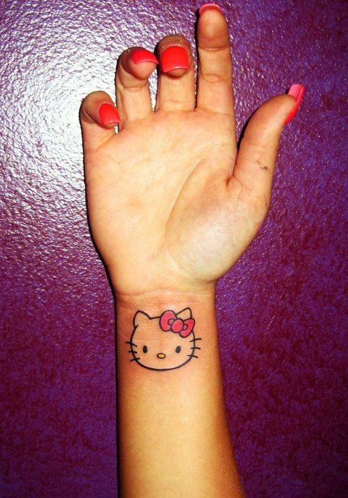 hello kitty tattoo small - Google Search