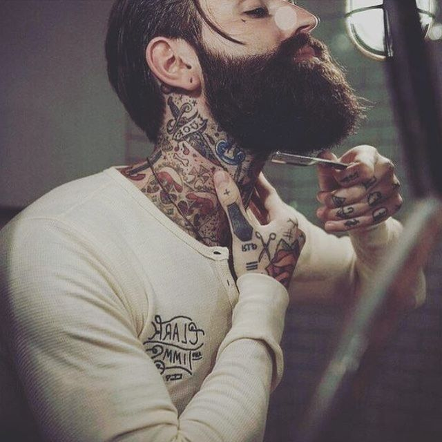 25 best ideas about beard neckline on pinterest beard grooming beard line and trimmed beard. Black Bedroom Furniture Sets. Home Design Ideas