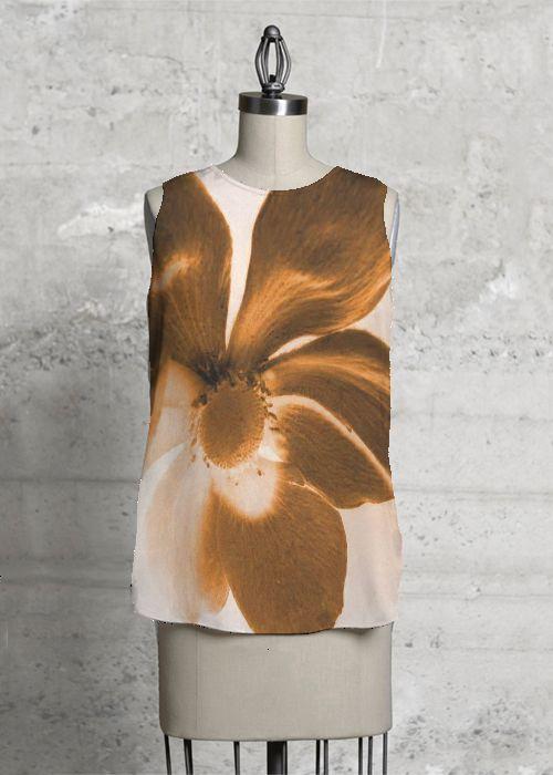 Top in polysilk. Art design by JWL. Buy it on www.shopvida.com. Price 75.00 USD  www.jeanettewettersteinlarsen.com