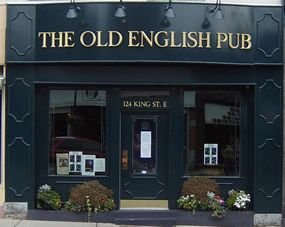 EVERY FRIDAY, 2 For 1 BEER BATTERED COD & CHIPS.      Located in downtown Gananoque, 1000 Islands, Ontario, The Old English Pub offers an incredible dining experience in a traditional pub setting, with fresh, made to order English and Canadian ...
