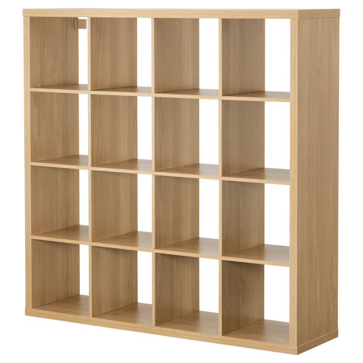 KALLAX Shelving unit - oak effect - IKEA