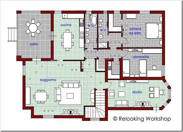 planimetria di progetto - © Relooking Workshop