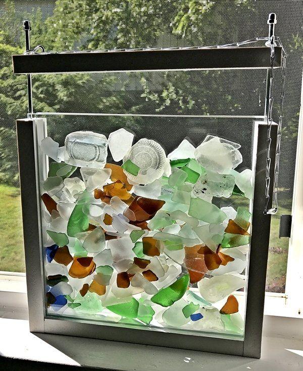 25+ unique Sea glass display ideas on Pinterest | Sea ...