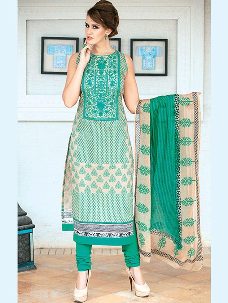 Buy 1 Get 1 Free New Designer Indian Kameez Suit Dress Anarkali ...
