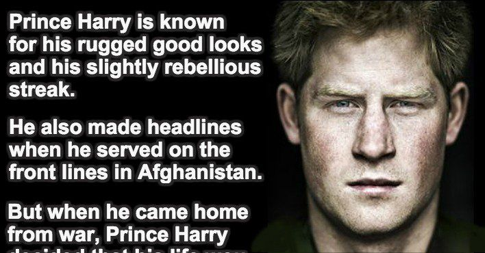 Something You Might Not Know About Prince Harry. This Is Incredible.