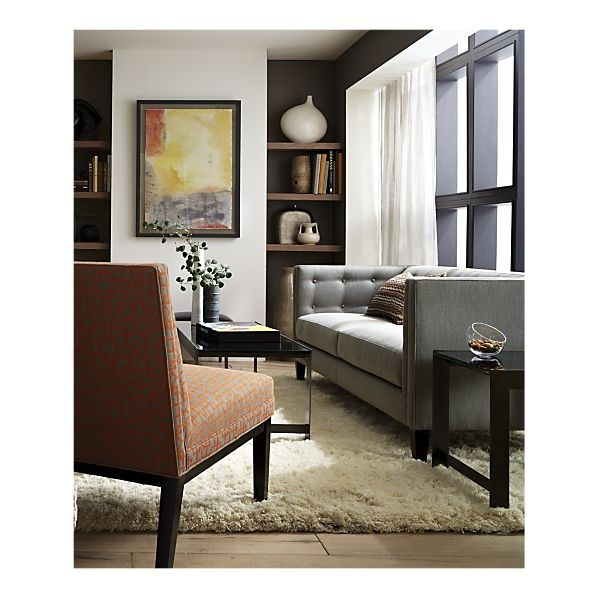 Sheepskin Almond Throw Rugs Light Walls Crate And Barrel And Neutral Couch