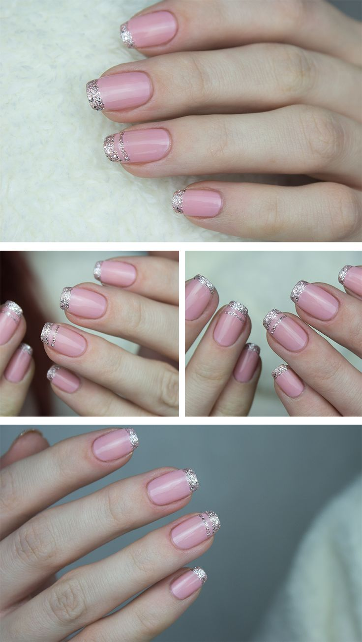 Pink and Silver Nail Design #nails #NailDesigns #NailArt