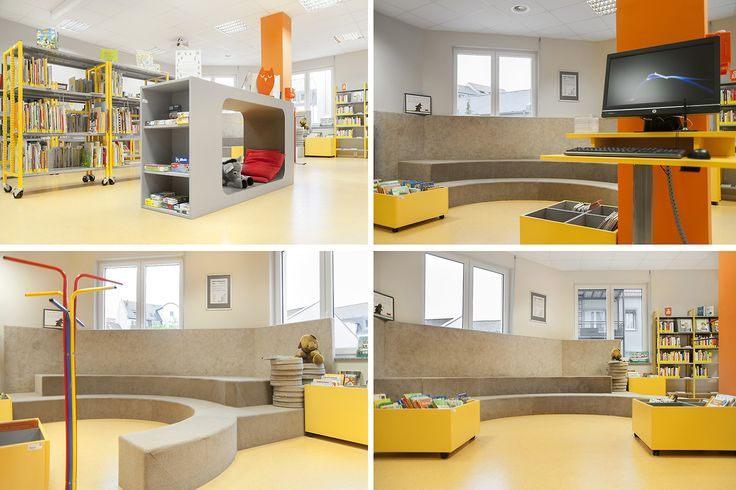 Ffentliche bibliothek dresden neustadt allemagne schulz for Innenarchitektur dresden