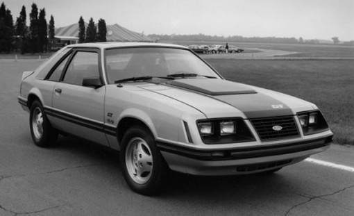 1983 Mustang GT --I had an '84 that was all black.  LOVED that car!