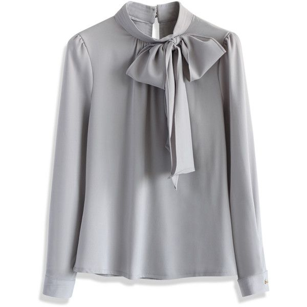Womens Bow Tie Shirt