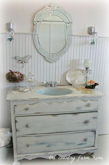 1000 ideas about dresser sink on pinterest dresser Accessorizing a small bathroom