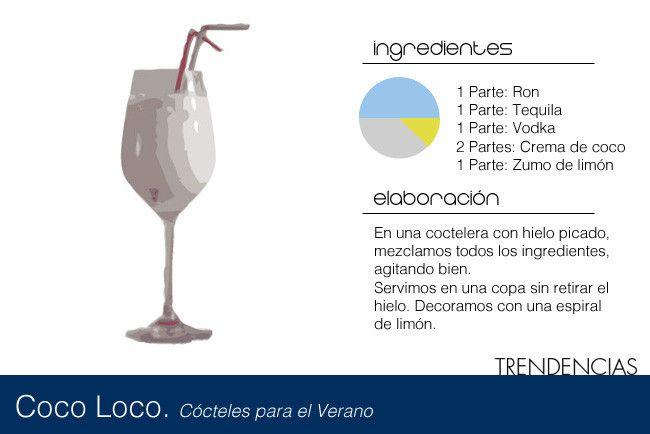 Coctel coco loco - 2