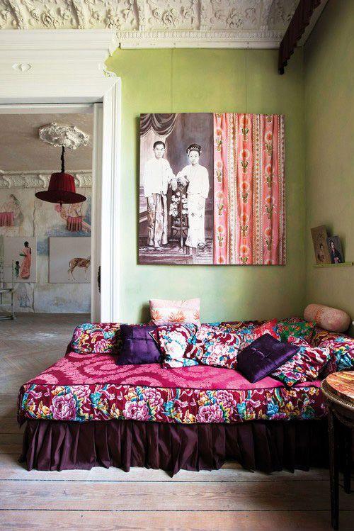 vårt nya hem, tiny nyc bedroom inspiration.