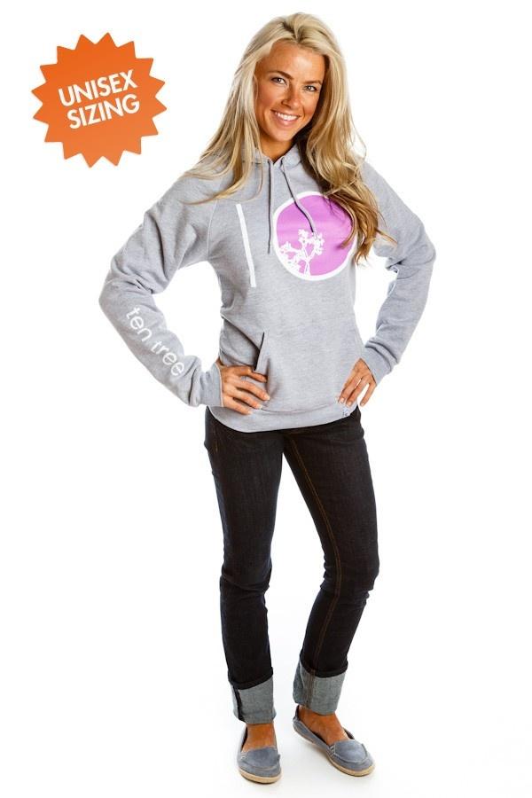 Stumbled Across Ten Tree apparel, take a look! All the hoodies look super comfy :) Barrel (Grey/Purple) | Ten Tree Apparel