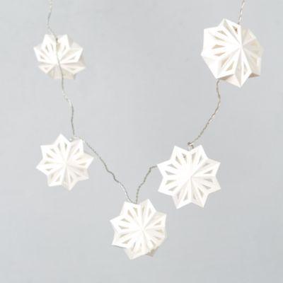 Terrain Swedish Paper Snowflake Lights #shopterrain