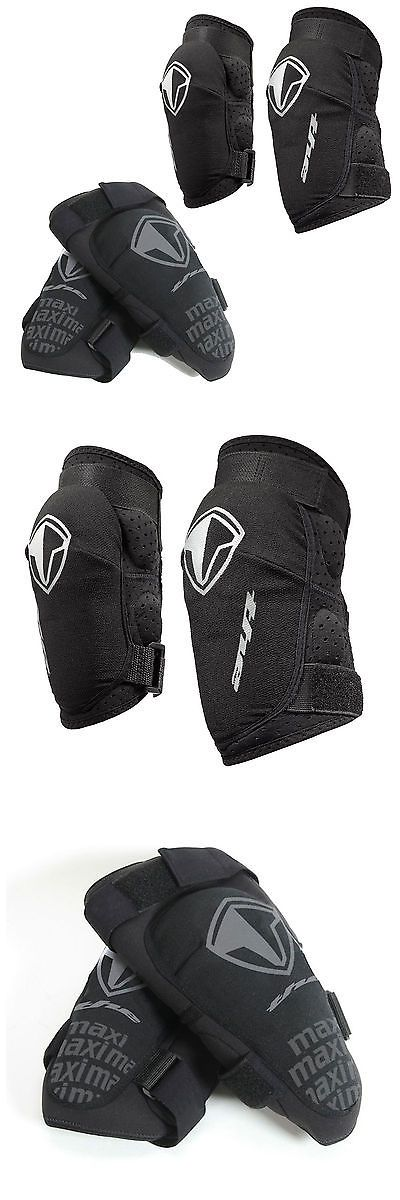Protective Pads and Armor 42326: T.H.E Industries Maxi Mtb Elbow And Knee Pads. The Armour Black -> BUY IT NOW ONLY: $30.44 on eBay!