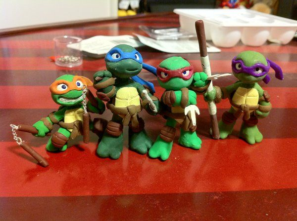 Mini TMNT by Niwa-Katuki.deviantart.com on @deviantART