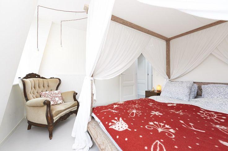 Slaapkamer foto voor verhuur van appartement in Amsterdam | tobiasmedia.nl