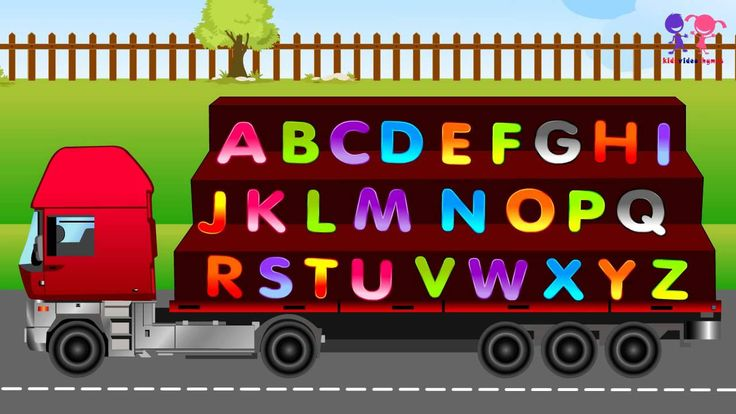 ABC Song, ABC Songs for Children | Truck ABC Song for Kids