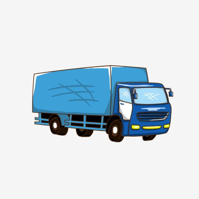 Hand Drawn Illustration Transport Truck Cartoon Hand Painted Illustration Transportation Png Transparent Clipart Image And Psd File For Free Download Logo Design Coffee Trucks Cartoon Illustration