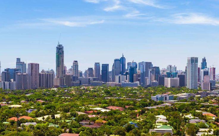 Manila, a capital das Filipinas,