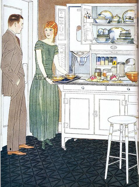 Sellers Kitchen Cabinets, 1924