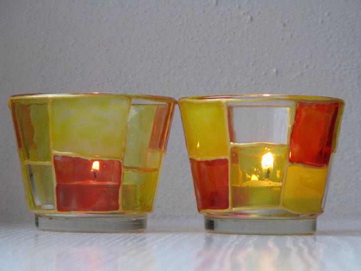 svícny - malované