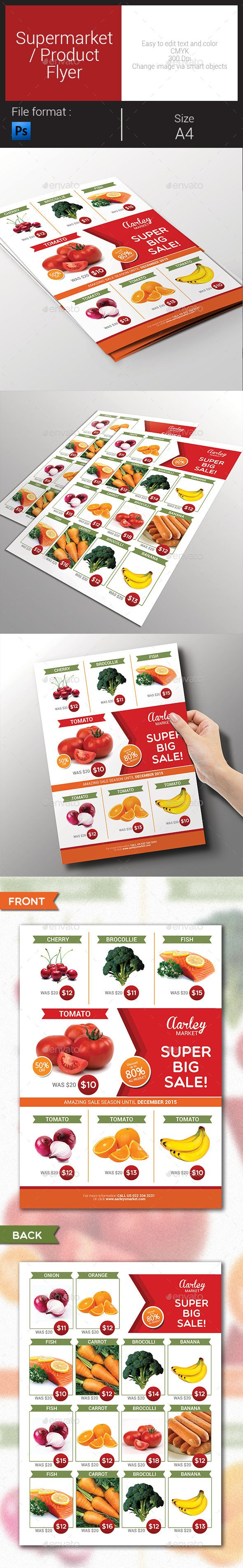 Supermarket / Product Flyer Template PSD | Buy and Download: http://graphicriver.net/item/supermarket-product-flyer/9164447?WT.oss_phrase=&WT.oss_rank=199&WT.z_author=arifpoernomo&WT.ac=search_thumb&ref=ksioks
