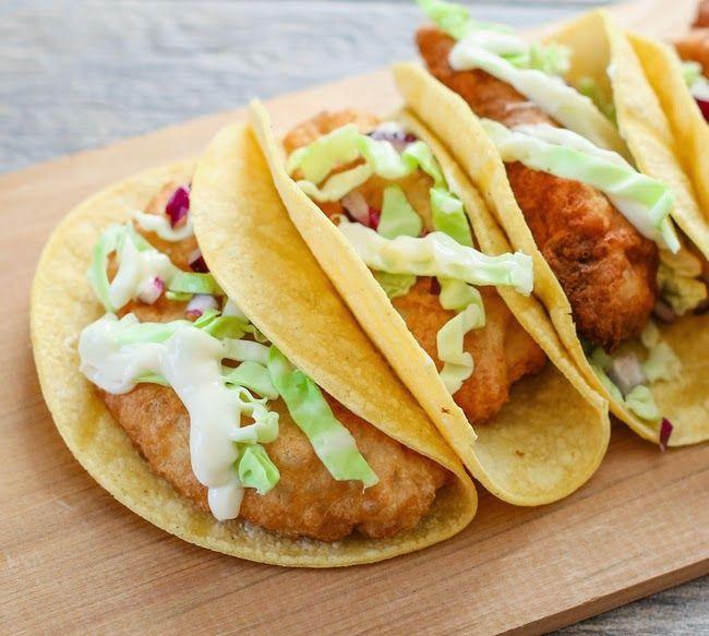 66 best din mico y ligero images on pinterest ligers for Fish taco batter recipe