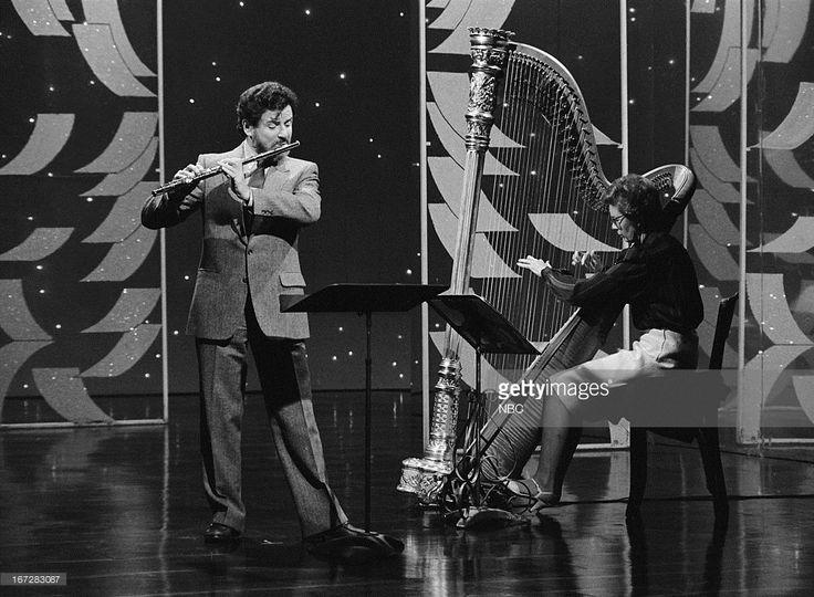 Flautist James Galway on September 21, 1983 --