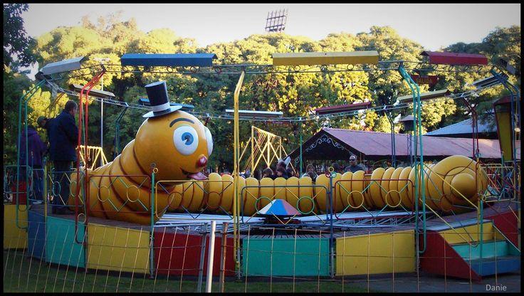 El gusano del Parque Independencia - Rosario - Santa Fe