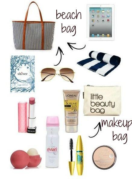 Spring Break Beach Bag Essentials College Trends In 2018 Pinterest And Bags