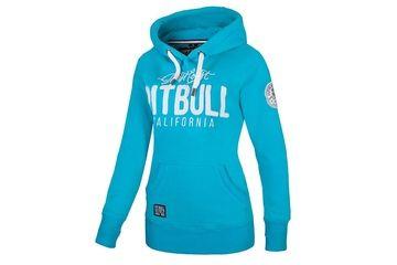 3e9c8244ee4c Damska bluza z kapturem Pit Bull California - Miętowa