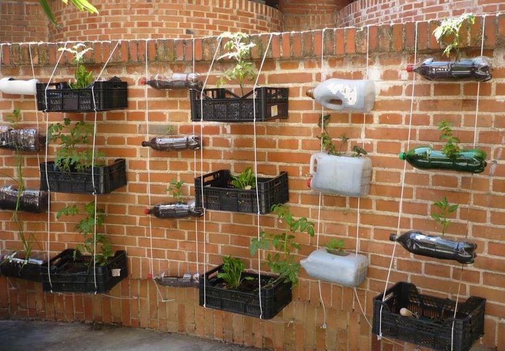 M s de 25 ideas incre bles sobre jardines verticales - Jardines verticales caseros ...