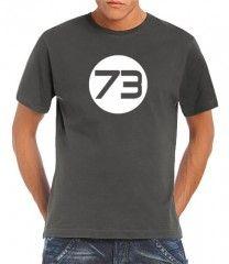 Camiseta 73 El número favorito de Sheldon
