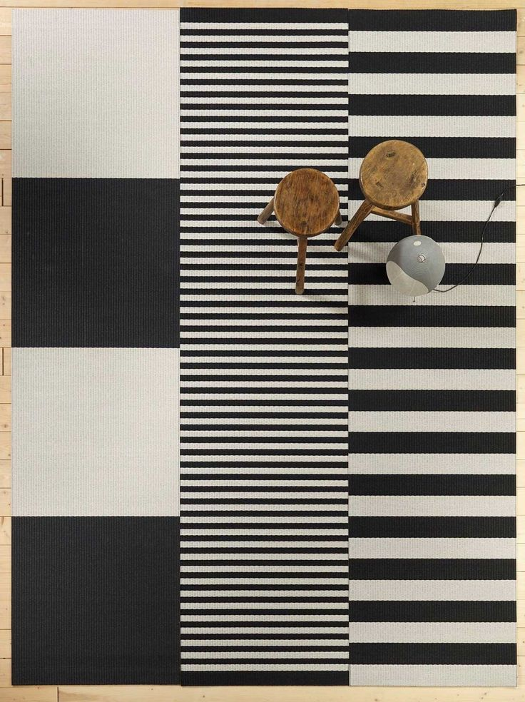 The Big Stripe Carpet by Ritva Puotila & Woodnotes | Yellowtrace